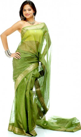 asparagus_green_tissue_chanderi_sari_with_golden_ye21
