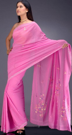 bubble_pink_sari_with_sequins_and_thread_work_vf79