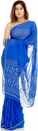 cobalt_blue_sari_with_sequins_yg83