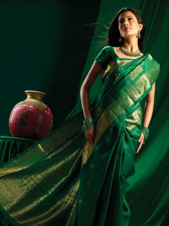 Green_brocade_silk_saree