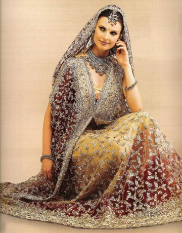 Rajasthani-Lehenga-Choli-wedding-gown