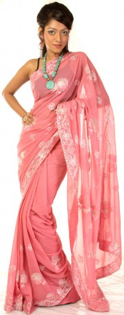 rose_pink_sari_with_crewel_embroidered_flowers_saf44