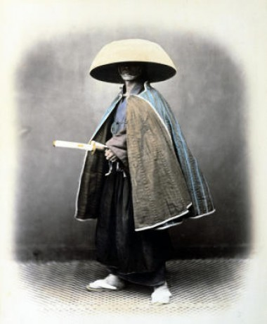 A-Japanese-Samurai-In-Traditional-Costume-Felice-Beato-217680