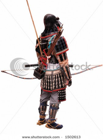 stock-photo-japanese-bowman-wearing-traditional-war-clothes-isolation-over-white-background-1502613