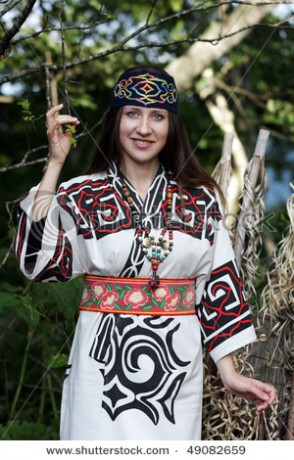 stock-photo-woman-dressed-up-in-traditional-costume-of-ainu-ainu-are-an-indigenous-caucasian-like-ethnic-group-49082659